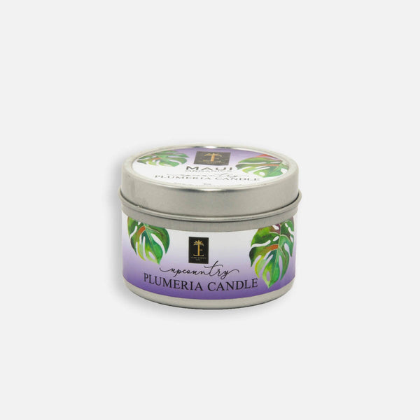 Upcountry Plumeria Candle