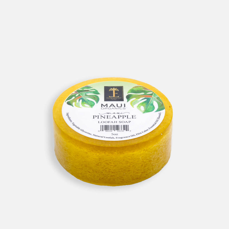 Maui Pineapple Loofah Soap