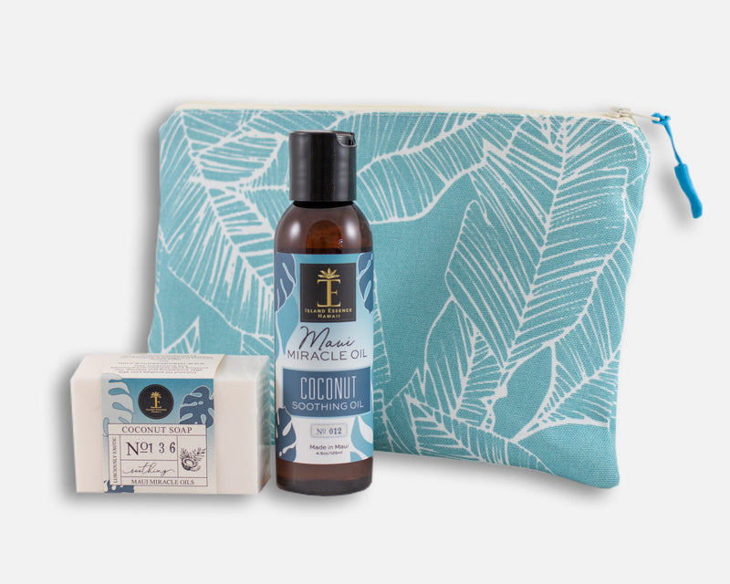 Coconut Oil & Soap Gift Collection with Bag