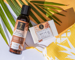 Tamanu Nut Oil & Soap Gift Collection with Bag
