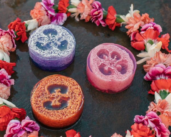 Local Pikake Lei Loofah Soap