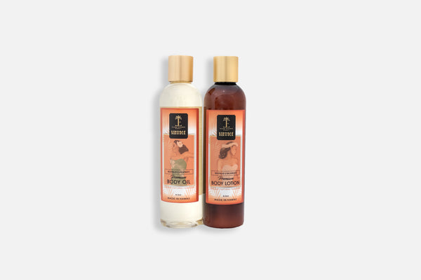 Vintage Mango Coconut Premium Body Oil and Body Lotion