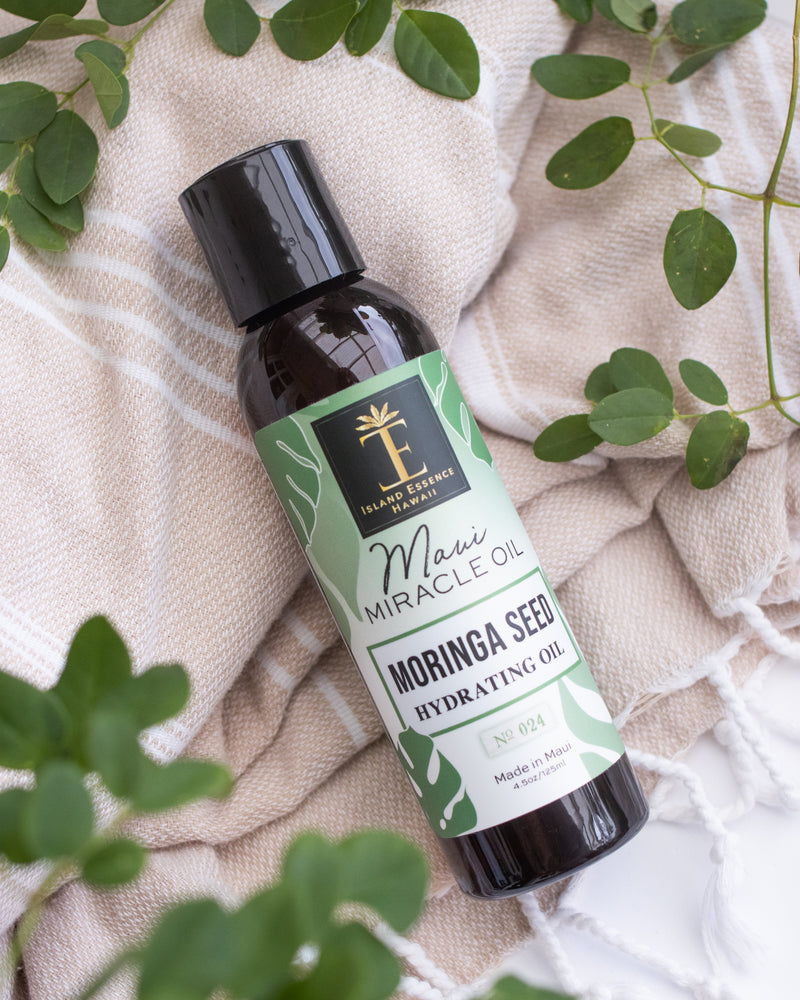 Moringa Seed Hydrating Oil--Maui Miracle Oil