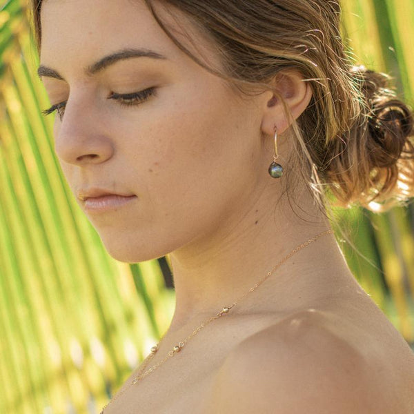 Mailina Tahitian Peahi Earrings