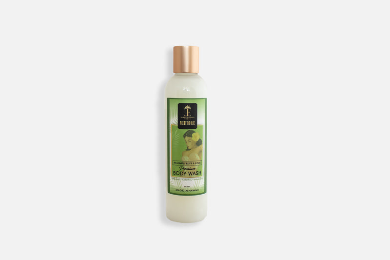 Vintage Passionfruit & Lime Premium Body Wash