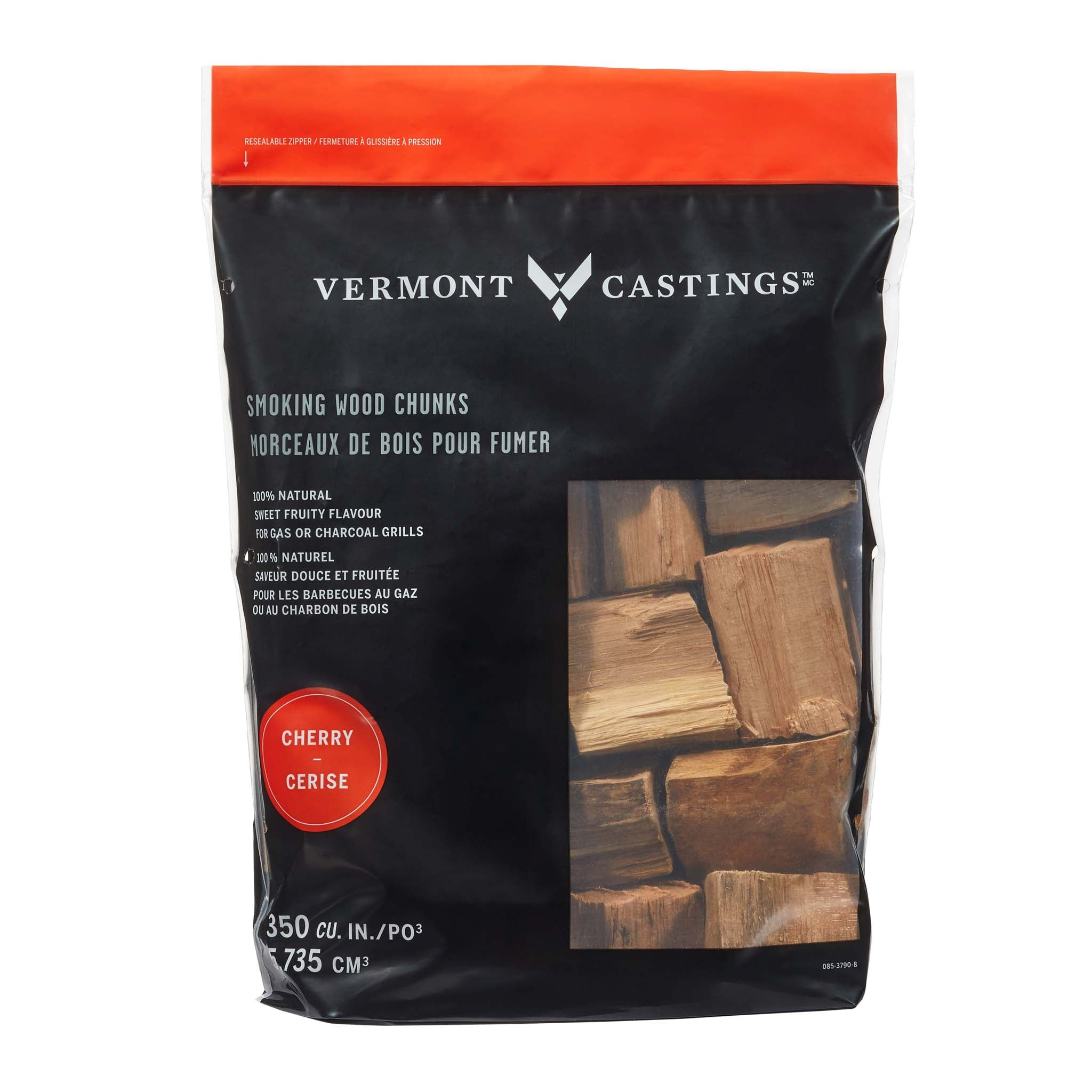Smoking Wood Chunks, Cherry Flavour, 4-lb