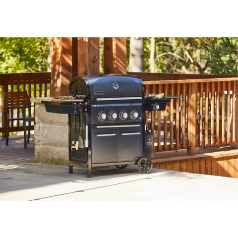 Vermont Castings Vanguard™ 4-Burner with Side Burner Convertible Gas BBQ Grill