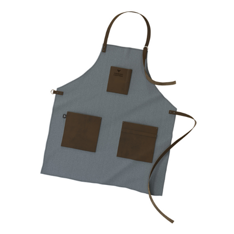 Grilling Apron, Canvas & Leather