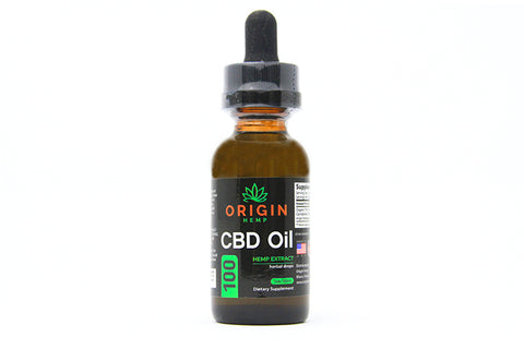 Origin Hemp CBD Tincture Oil 100 mg