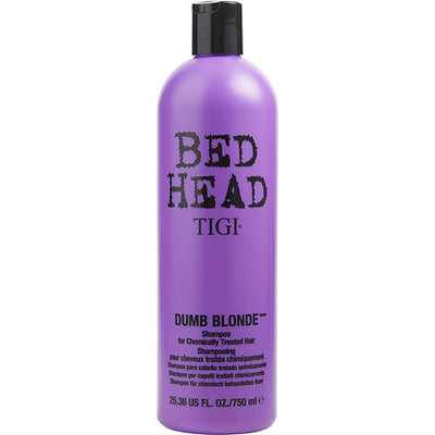 BED HEAD by Tigi DUMB BLONDE SHAMPOO FOR CHEMICALLY TREATED HAIR 25.36 OZ (PACKAGING MAY VARY)