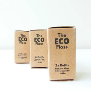 Eco Floss refill 2x30m-Personal Care-The Eco Brush-ReThink Store