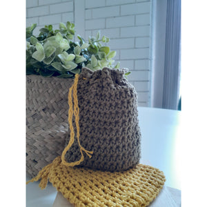 Soap saver - crochet cotton bag-Personal Care-ReThink-ReThink Store