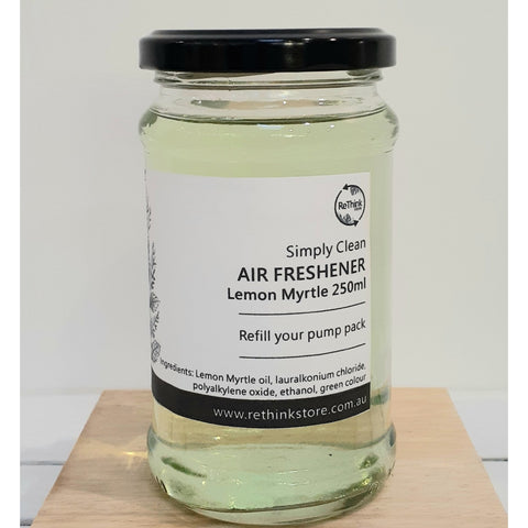 Air Freshener refill Lemon Myrtle 250ml-Household-Simply Clean-ReThink Store