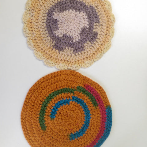 Wash Cloth - Crochet Natural Fibre-Household-ReThink-17cm square-ReThink info hub + store