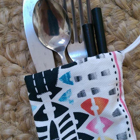 Cutlery Pouch-Household-ReThink info hub + store-ReThink info hub + store