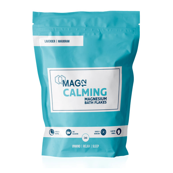 Calming Magnesium Bath Flakes with Lavender & Marjoram 1kg