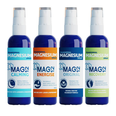 Magnesium Spray Bundle | Original, Calming, Recovery & Energise