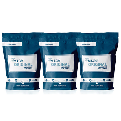 Original Magnesium Bath Flakes Bundle (3 x 1kg)