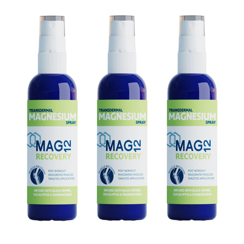 Recovery Magnesium Spray Bundle (3 x 100ml)