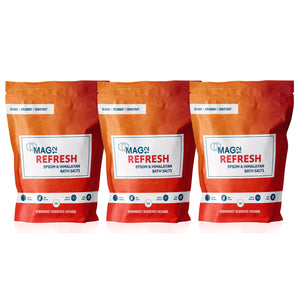 Refresh Epsom Bath Salts Bundle (3 x 1kg)