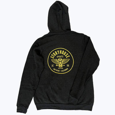 Storyhouse Spirits Merch Dark Grey Heather / S Zip Hoodie