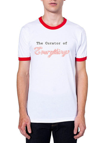 curator of everything t-shirt