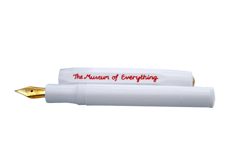 fountain pen of everything white