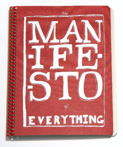 a5 notebook of everything