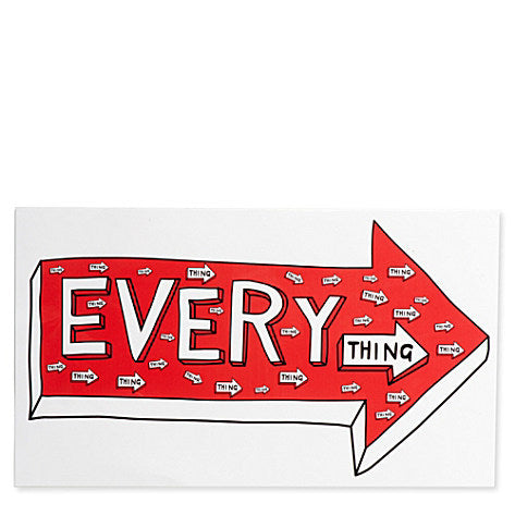 large sticker of everything
