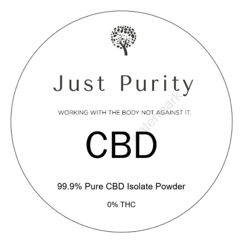 CBD Pure isolate powder buy in the UK