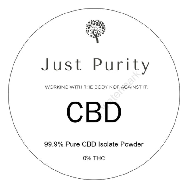 CBD Isolate 99.9% Pure Powder - MK-677