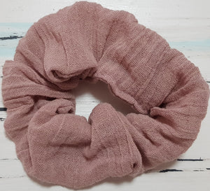 Beautiful Blush Scrunchie