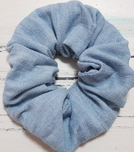 Country Chambray Scrunchie