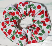 Load image into Gallery viewer, Charming Cherry Scrunchie