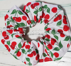 Charming Cherry Scrunchie