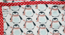 Load image into Gallery viewer, Penguin Micro Fleece Blanket - large