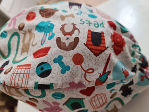 Pet Playtime Scrub Cap