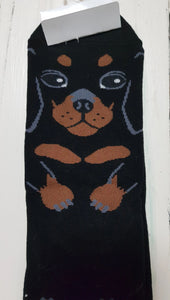Dachshund Women's Cotton Socks