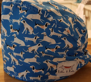 Long Dog Scrub Cap