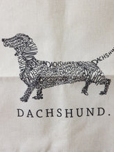 Load image into Gallery viewer, Dachshund Throw Cushion Cover - Dachshund's the Word
