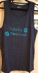 Men's Singlet - Totally Pawsome