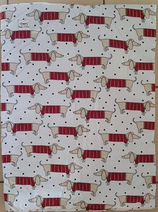 Dazzling Dachshund Travel Mat Large
