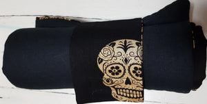 Golden Skull Travel  Mat