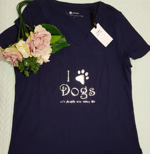 I love dogs T-shirt