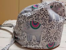 Load image into Gallery viewer, Elegant Elephant Scrub Cap