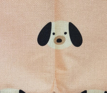 Load image into Gallery viewer, Super Cute Pink Puppy Throw Cushion Cover