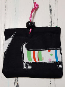 Tiny Dachshund Treat Pouch