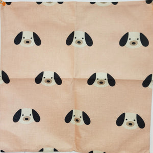 Super Cute Pink Puppy Throw Cushion Cover