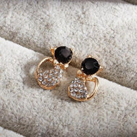 Cat jewelry 18 k Golden Cat Earring Cat Live.3