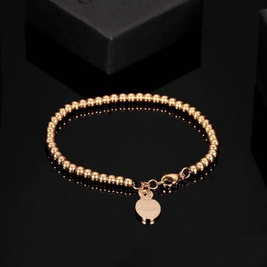 The Smiley Cat Bracelet Plated in Rose Gold.Catlive.2